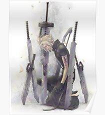 Cloud Strife Final Fantasy VII Poster
