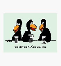 Crowbar Photographic Print