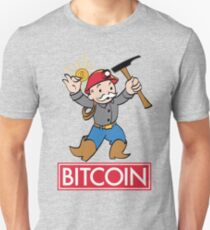 Bitcoin  Slim Fit T-Shirt