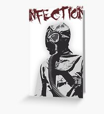 Infection Greeting Card