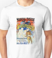 Vintage Jules Cheret 1896 Scaramouche T-Shirt
