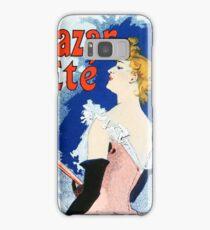 Vintage Jules Cheret 1896 Kanjarowa Samsung Galaxy Case/Skin