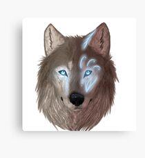 Mystical wolf Canvas Print