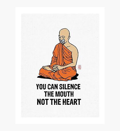 Silenced.... Photographic Print
