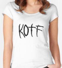 KOTF (BLACK FONT) Women's Fitted Scoop T-Shirt