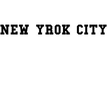 NEW YORK CITY - souvenir tshirt by Sviz