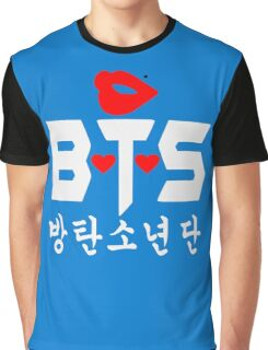 ♥♫Love BTS-Bangtan Boys K-Pop Clothes & Phone/iPad/Laptop/MackBook Cases/Skins & Bags & Home Decor & Stationary♪♥ Graphic T-Shirt