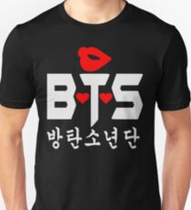 ♥♫Love BTS-Bangtan Boys K-Pop Clothes & Phone/iPad/Laptop/MackBook Cases/Skins & Bags & Home Decor & Stationary♪♥ T-Shirt