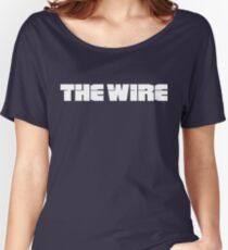 The Wire (2002) TV Series Women's Relaxed Fit T-Shirt