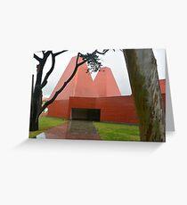 Eduardo Souta da Moura's Paula Rego Museum Greeting Card