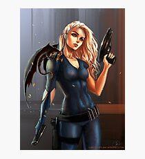 Sci-Fi Game of Thrones - Daenerys Targaryen Photographic Print