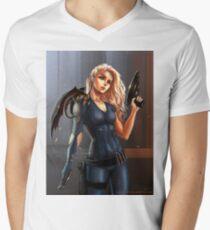 Sci-Fi Game of Thrones - Daenerys Targaryen Mens V-Neck T-Shirt