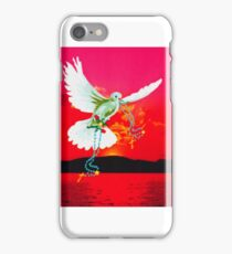 Magestic Sun Blank Card iPhone Case/Skin