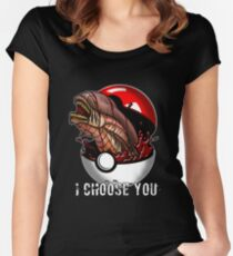 Pokemon Xenomorph Women's Fitted Scoop T-Shirt
