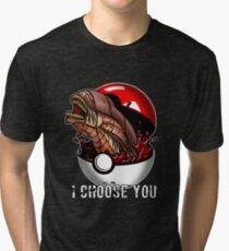 Pokemon Xenomorph Tri-blend T-Shirt