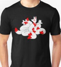 Kitsune kits!  Unisex T-Shirt