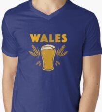 Wales Men's V-Neck T-Shirt