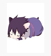Chibi Sasuke Kitty Photographic Print