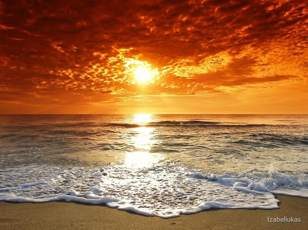Ocean Sunset by Izabeliukas