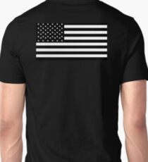American Flag, Black, Stars & Stripes, USA, US, America T-Shirt