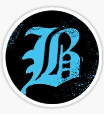 Beartooth Logo Turquoise   Sticker