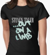 OUT IN A LIMB TYLER MUSIC TOUR Women's Fitted T-Shirt