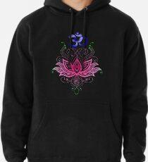 Lotus-Om Pullover Hoodie