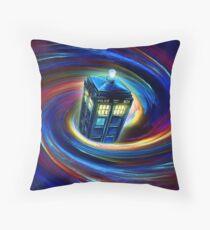 Time Vortex Throw Pillow