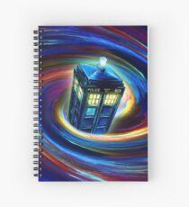 Time Vortex Spiral Notebook