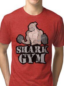 SHARK GYM Tri-blend T-Shirt