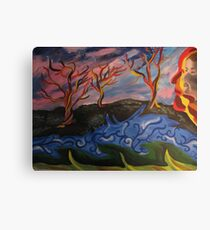 Fictional Nature Canvas Print