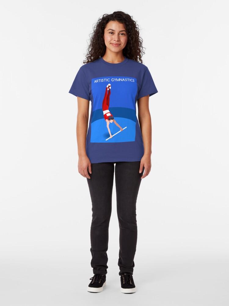 Alternate view of Gymnastics High Bar 2016 Summer Games  Classic T-Shirt