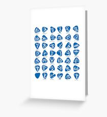 Olympics Icon Pictograms Set Greeting Card