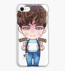 SEVENTEEN 아주 NICE - CHIBI WONWOO iPhone Case/Skin