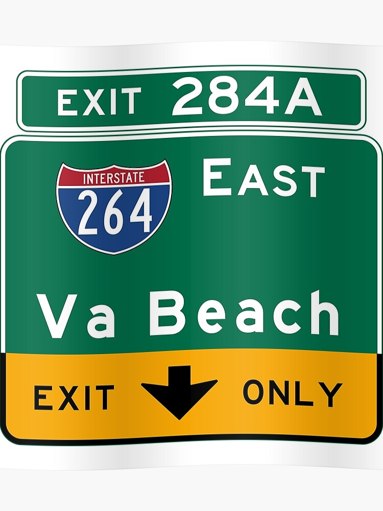 55fcf2f7d Virginia Beach, Road Sign, VA