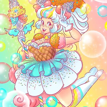Ice Cream Magical Girl by doublemaximus