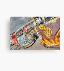 Rusty Campers Canvas Print