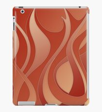 Flames - fire symbol, 4 elements iPad Case/Skin