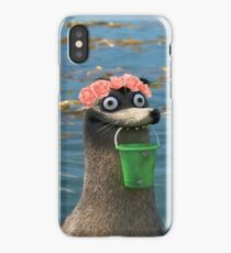 Gerald Finding Dory Flower Crown iPhone Case