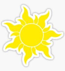 Tangled Sun Symbol Sticker