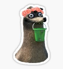 Gerald Finding Dory Flower Crown No Background Transparent Sticker Sticker