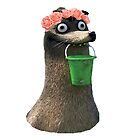 Gerald Finding Dory Flower Crown No Background Transparent Sticker by Marcles