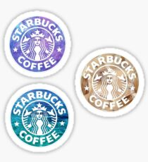 Starbucks Logo Tri Pack Stickers Sticker