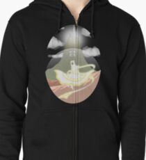 The Wise One  Zipped Hoodie