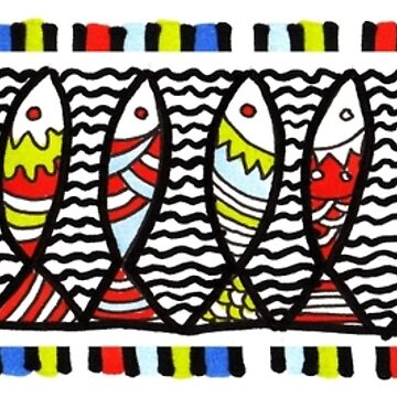 So many fish in the sea! by artytypes