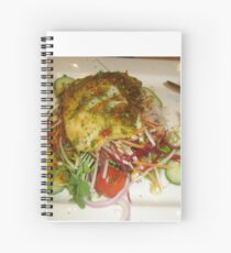 Stacked Food Spiral Notebook