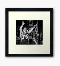 Neil Abercrombie And Brian Schatz Framed Print