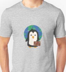 Penguin world traveler   T-Shirt