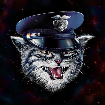 Police Cat by nicebleed