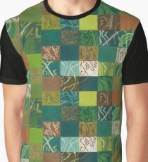 Euca Abstract (Flat Detail Section 1) Graphic T-Shirt